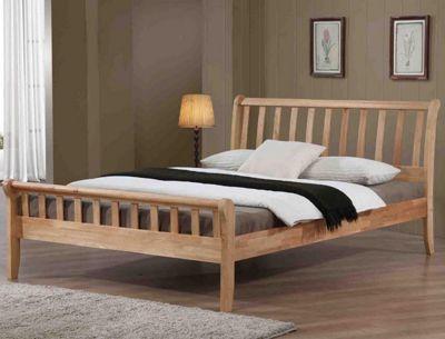 Ultimum Padeswood 3ft Single Hardwood Oak Bed