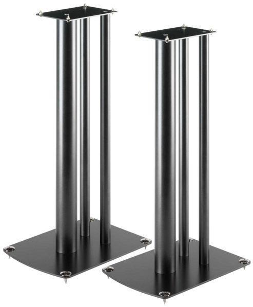 SOUNDSTYLE Z2ii SPEAKER STANDS (BLACK) (PAIR)