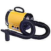 Pawhut Dog Pet Grooming Hairdryer Heater Blaster 2800W Yellow