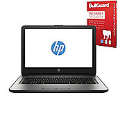 "HP 14-an008na 14"" Laptop AMD A8-7410 Quad Core 8GB 1TB Win10 with Internet Secuirty - X3M01EA#ABU"