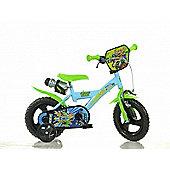Ninja Turtles Half Shell Heroes 12inch Balance Bike Green - DINO Bikes