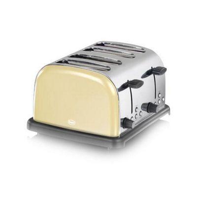 Swan 4 Slice Cream Toaster