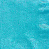 Turquoise Dinner Napkins - 2ply Paper - 50 Pack