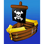 Inflatable Pirate Ship Cooler - 104cm