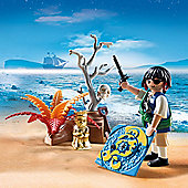 Playmobil Egg Pirate on Treasure Hunt