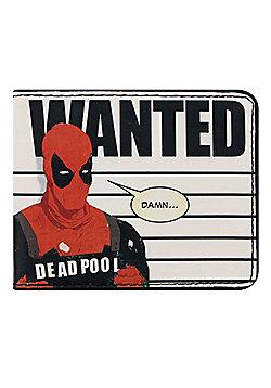 Marvel Deadpool Wanted Lineup Bi-Fold Wallet