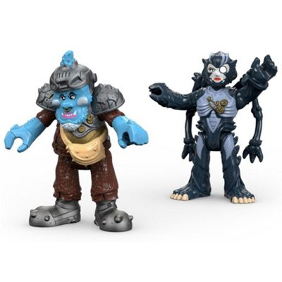 Imaginext Power Rangers Squat and Baboo