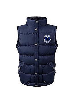Everton FC Boys Gilet - Blue