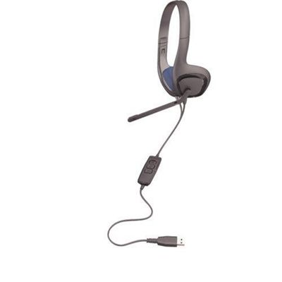 Plantronics Audio 622 Stereo USB Headset - Black
