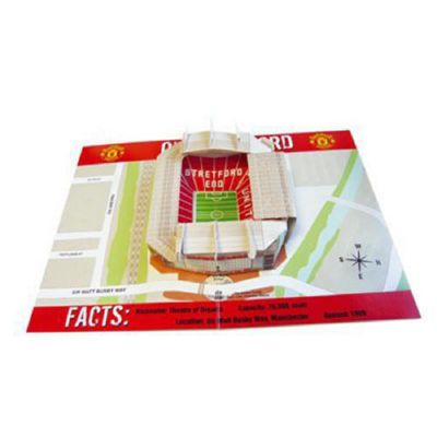 Buy Retailzone Manchester United Fc Pop Up Birthday Card From Our