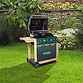 Outback Hunter 3 Burner Hooded Classic Gas Barbecue - With Hose & Regulator
