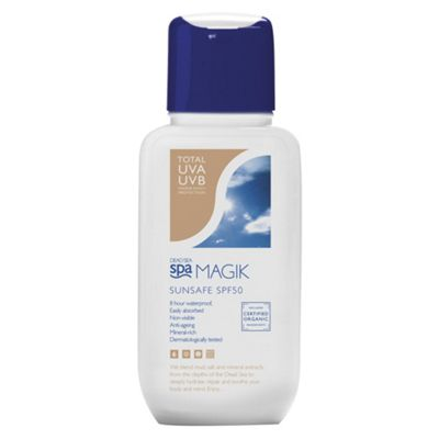 Dead Sea Spa Magik Sunsafe SPF50 150ml