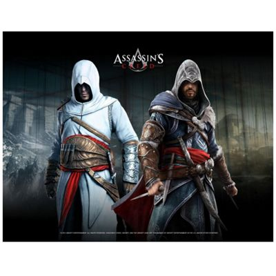 ASSASSINS CREED Wallscroll, Altair & Ezio In Blackroom (GE2013)