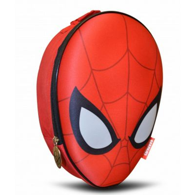 Spiderman '3d Head' Shaped Premium Lunch Bag