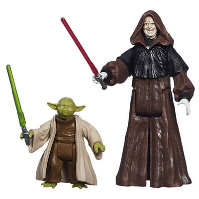 Star Wars Mission Series - Darth Sidious and Yoda Figures