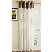 "Sloane Eyelet Voile, Natural 55x90""/140x229cm"