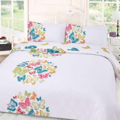 Butterfly Duvet Cover Set, Paloma Multi - King
