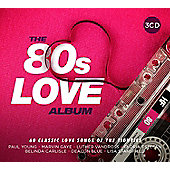 Various Artists - The 80s Love Album (3CD)