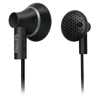 Philips SHE3000 Ear Bud Headphones - Black
