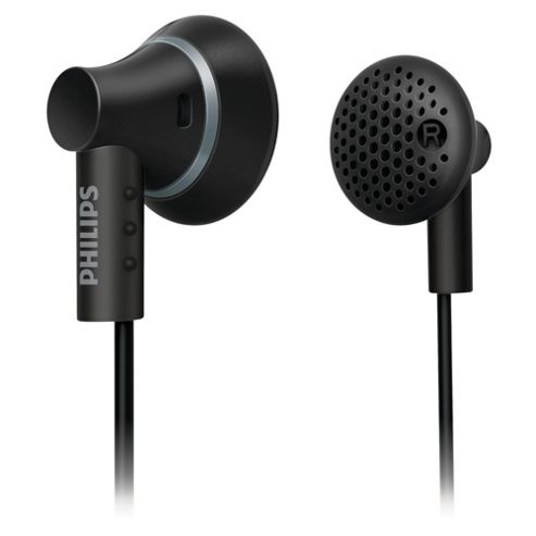 Philips SHE3000 Ear Bud Headphones - Black
