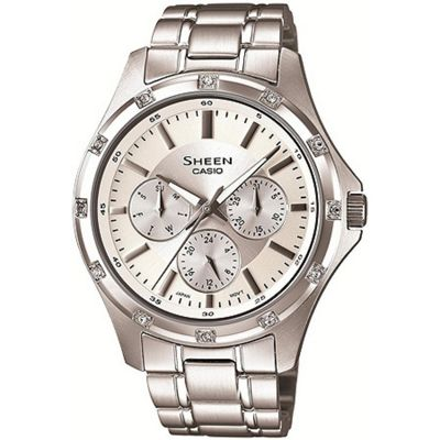 Casio Sheen Ladies Watch SHE-3801D-7ADR