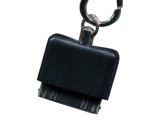 U-bop Accessories 92184 Clicklock Apple iPhone 3 Charging Port Connector Holder - Black