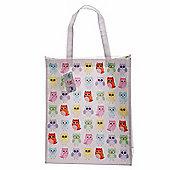 Lauren Billingham Owl Design Shopping Bag