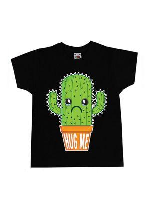 Hug Me Black Kids T-Shirt