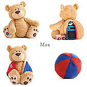 Buddy Ball Plush Honey Coloured Bear Max