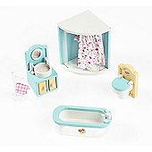 Sweetbee Bathroom Dolls House Furniture Set