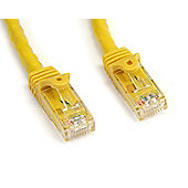 3 Ft Yellow Snagless Cat6 Utp Patch Cable - Etl Verified