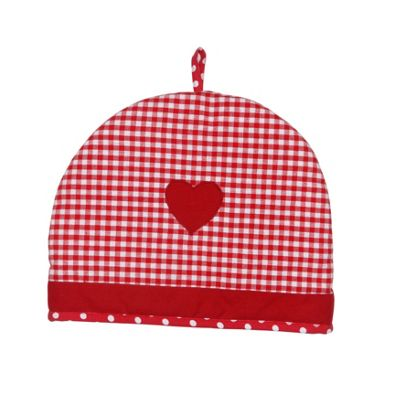 Dexam Vintage Home 6 Cup Tea Cosy, Claret Red