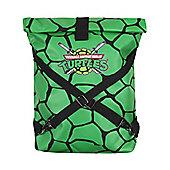 Teenage Mutant Ninja Turtles Green Folded Backpack With Cross Strap