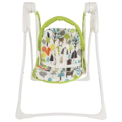 Graco Baby Delight Bear Trail 2 Speed Baby Swing