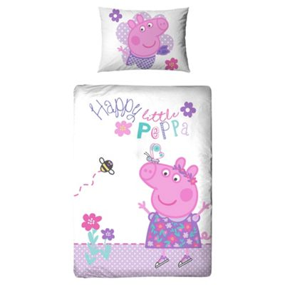 Peppa Pig Duvet Set Junior Bed
