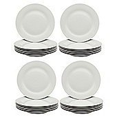 "White Wide Rimmed Dinner Plates - 268mm (10.5"") - Box of 24"