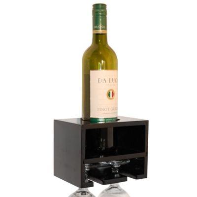 Techstyle Wall Wine rack - Black