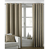 Riva Home Atlantic Eyelet Curtains - Latte
