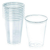 Clear Cups - 355ml Plastic Party Cups - 50 Pack