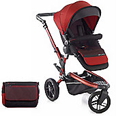 Jane Trider Pushchair (Red)