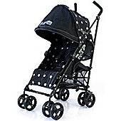 Zeta Vroom Stroller (Black Dots)