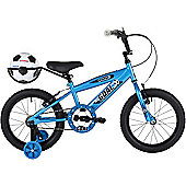 "Bumper Goal 16"" Pavement Bike Blue"