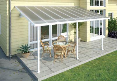 Palram Feria 3X10.35 white patio cover