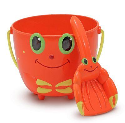Clicker Crab Bucket Spade - Melissa and Doug