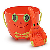 Clicker Crab Bucket Spade - Melissa and Doug
