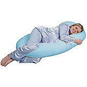 PreciousLittleOne 12ft Body & Baby Support Pillow (Blue)