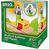 BRIO 33707 My First Railway - Bell Signal for Wooden Train Set
