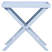 Butlers Tray Table, Blue