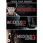 Insidious Triple Pack DVD 3disc