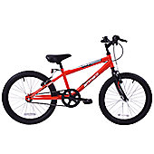 "Ammaco Gladiator 20"" Wheel MTB Kids 7+ Red"